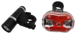 Front and Rear LED Bicycle Light Set - UNBRANDED TRTYA042